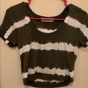 Urban outfitters tie dye crop top